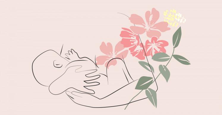 Serviettes Maternité hannahpad pour les saignements après accouchement